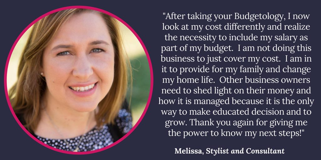 Melissa, Stylist and Consultant, Testimonial